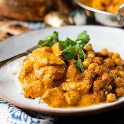 Butter Chicken | Rice| Chana Masala