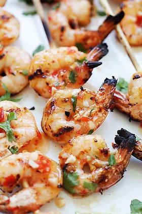 Sweet Chili Shrimp Skewers