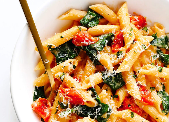 Penne Pasta with Creamy Rose Sauce