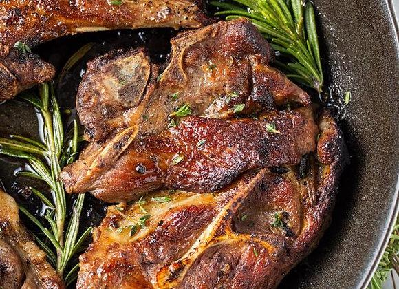 Rosemary Garlic Marinated Lamb Shoulder Chop