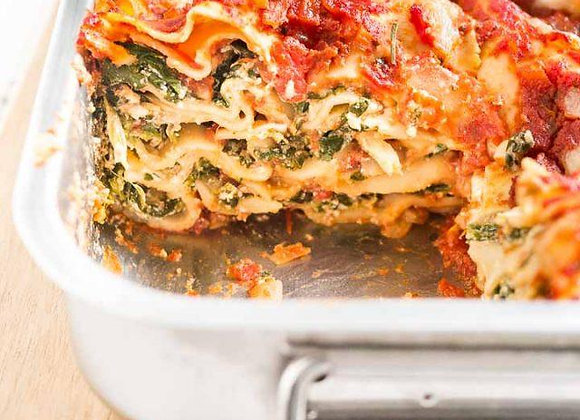 Vegetarian Lasagna- (casserole)