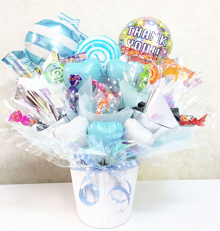 Candybouquet-balloon-white-with-option3000