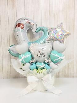 Tiffany blue open-heart
