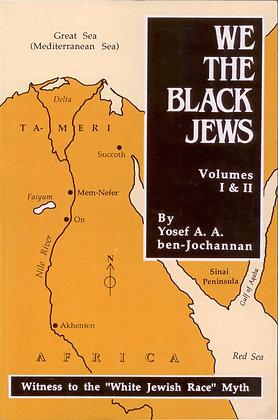 WE THE BLACK JEWS by Yosef A. A. ben-Jochanannan
