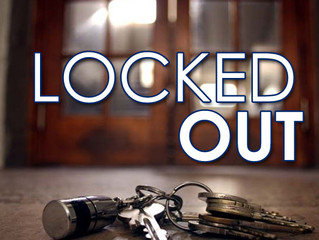 Locked out, lost your keys?