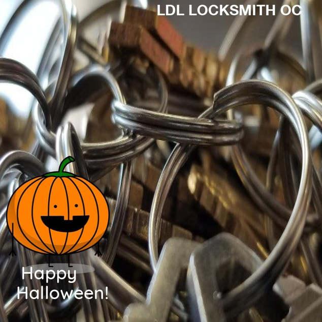 LDL Locksmith Wish you happy Halloween!