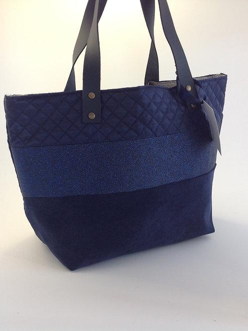 Sac à main bleu Les sacs de rose marie