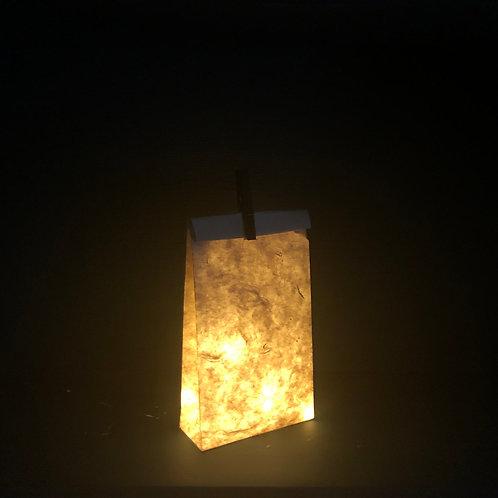 Sac illuminé en papier Népalais - Taille M