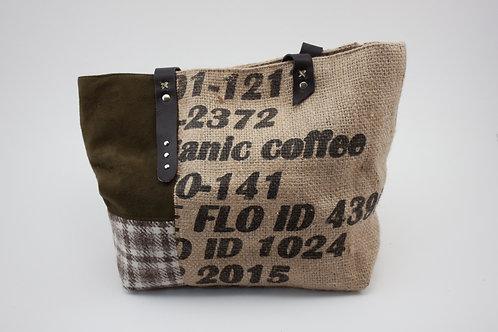 Sac à main Upcycling de sac à café