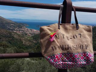 Un sac de rose marie en Italie