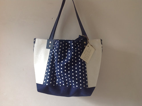 "Sac à main ""Boudoir"" Inspiration Bleue"