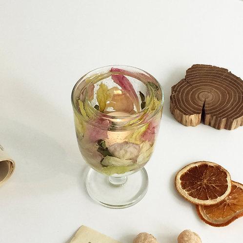 부케캔들홀더 (Bouquet tealight candle holder)