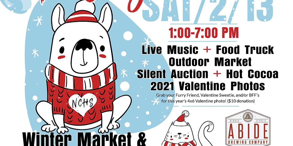 Frosty Paws Valen'tail' Celebration & Winter Market