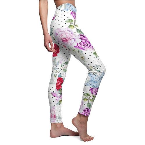 "Women's leggings with print ""Morning Dew"""