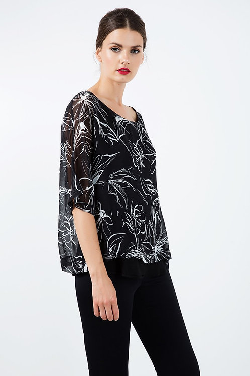 Short Sleeve Layer Top