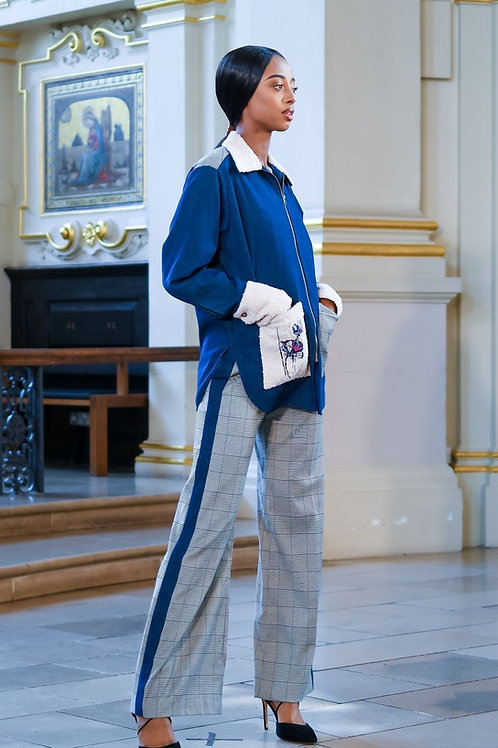 Set of denimjacket and trousers