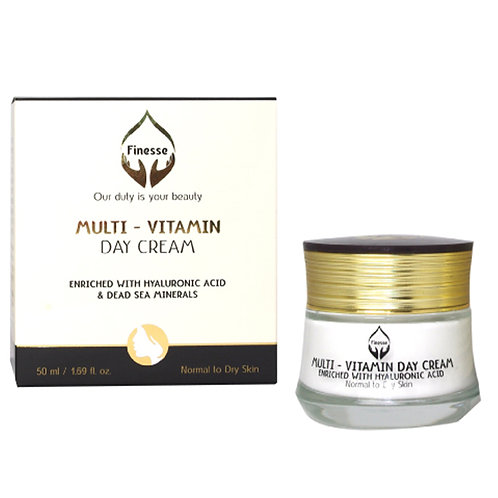 Dead Sea Multi Vitamin Day Cream – Enriched With Hyaluronic Acid