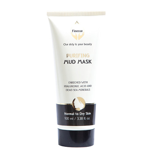 Dead Sea Purifying Mud Mask - Enriched With Hyaluronic Acid