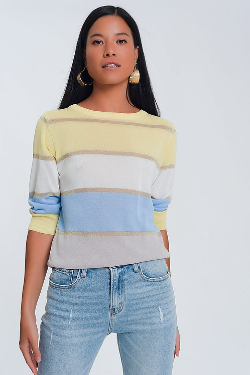Striped Jumper in Multi