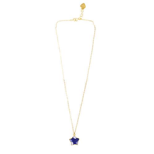 Lapis Lazuli Star Necklace