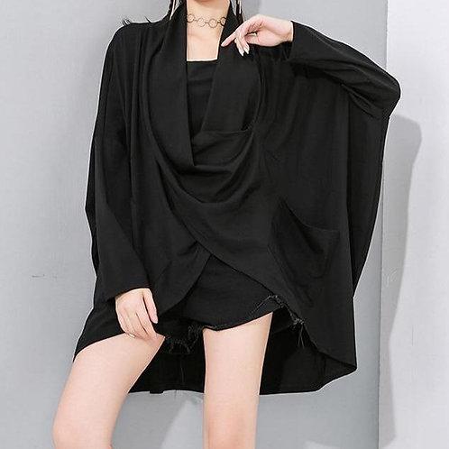 Katsumi V-Neck Loose Long Sleeve Shirt