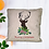 Thumbnail: Have a beautiful Christmas with this cozy embroidered deer pillow.