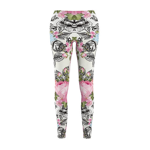 """Women's leggings with print """"Symmetry in action"""""""