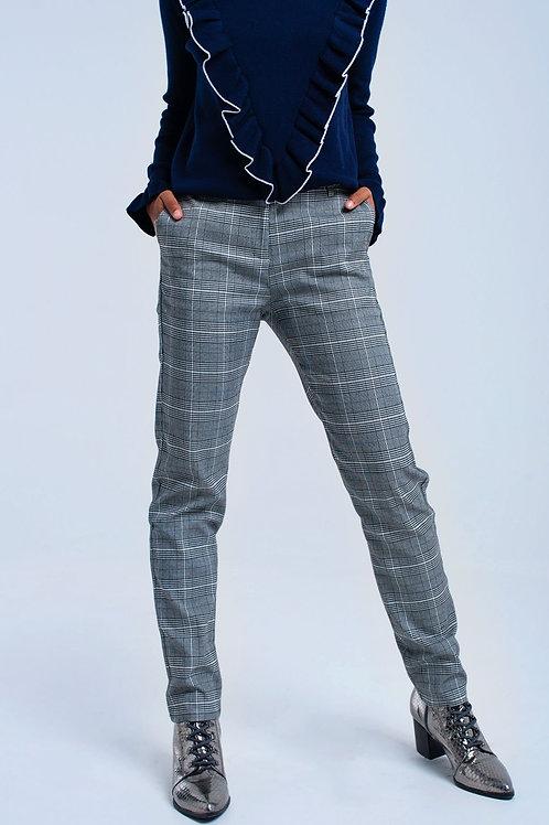 Gray Tartan Pants