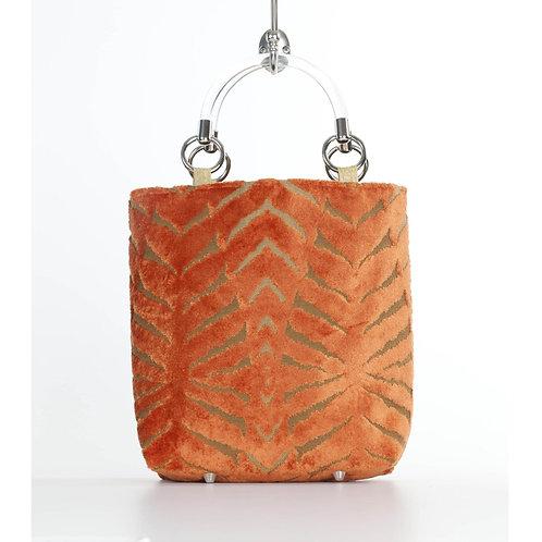 Magnetic Orange Small Tote