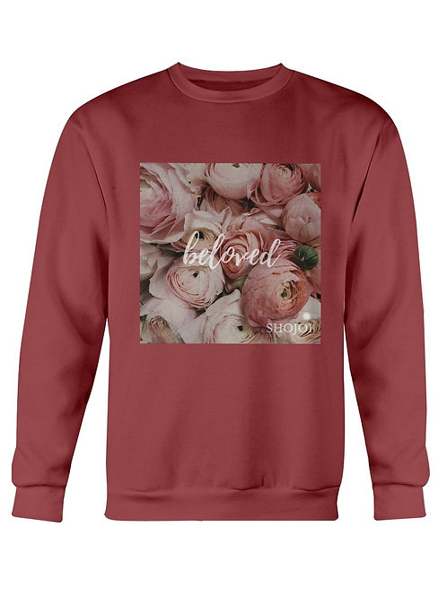 Ladies Beloved Print Sweatshirt