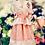 Thumbnail: Beautiful dress of lace with embroidery, taffeta, acrylic and silk