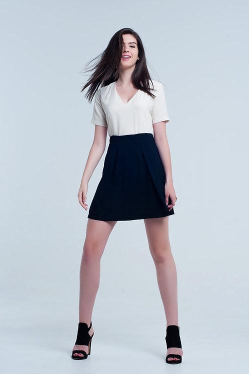 Mini Cream Dress