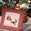Thumbnail: Christmas pillow with print