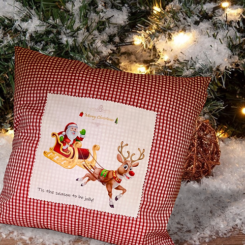 Christmas pillow cases with print