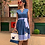 Thumbnail: Denim dress with embroidery