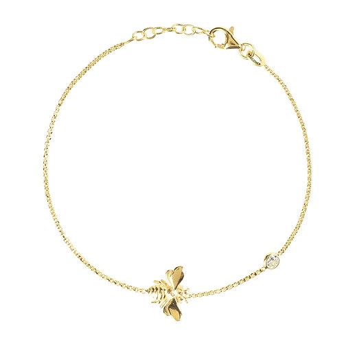 Queen Bee Bracelet Gold