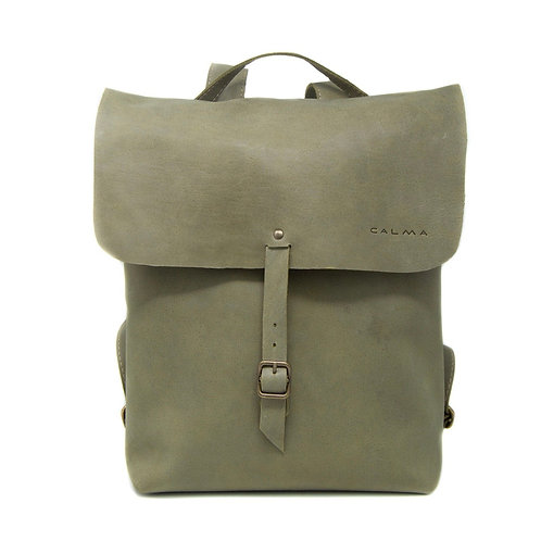 Leather Backpack - Handmade. Bilbao