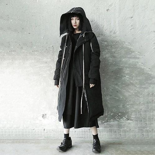 Wakako Hooded Pocket Coat
