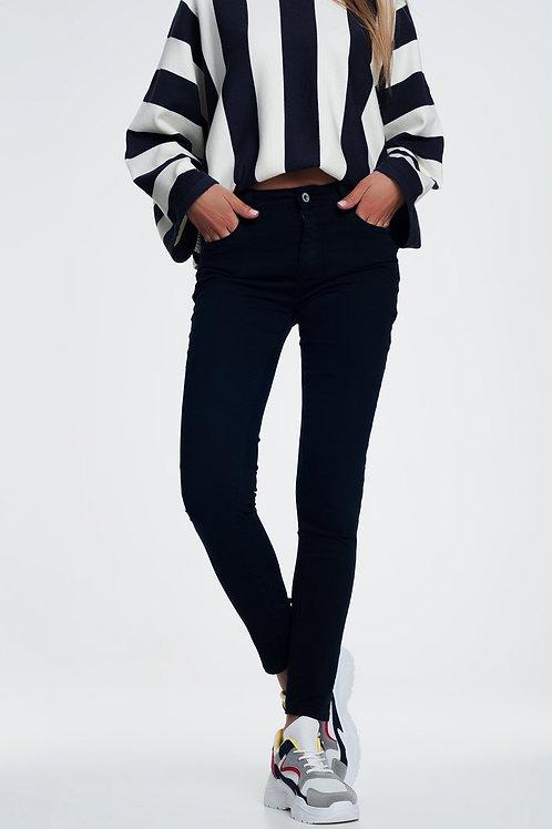 Skinny Jeans in Navy