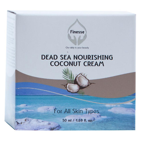 Dead Sea Nourishing Moisturizer Coconut Cream