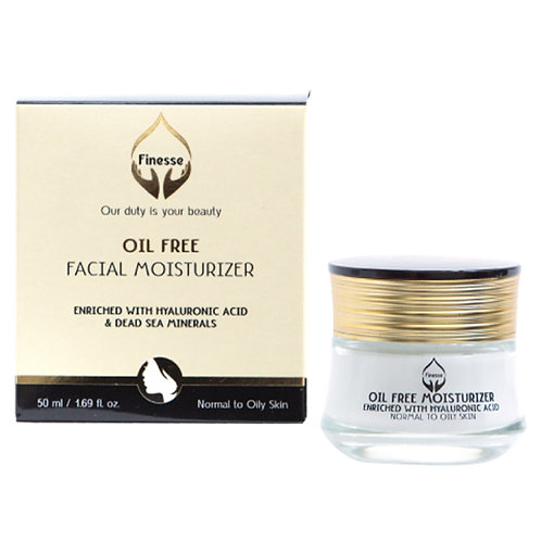 Dead Sea Oil Free Facial Moisturizer Cream - Enriched With Hyaluronic Acid