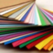 Coloured and metallic envelopes