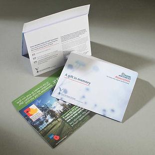 Gift aid donation envelopes