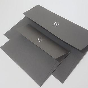 Handmade matching envelope pair.jpg