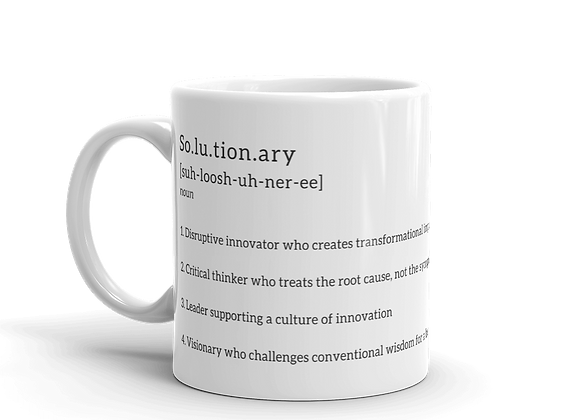 Solutionary Mug 11oz