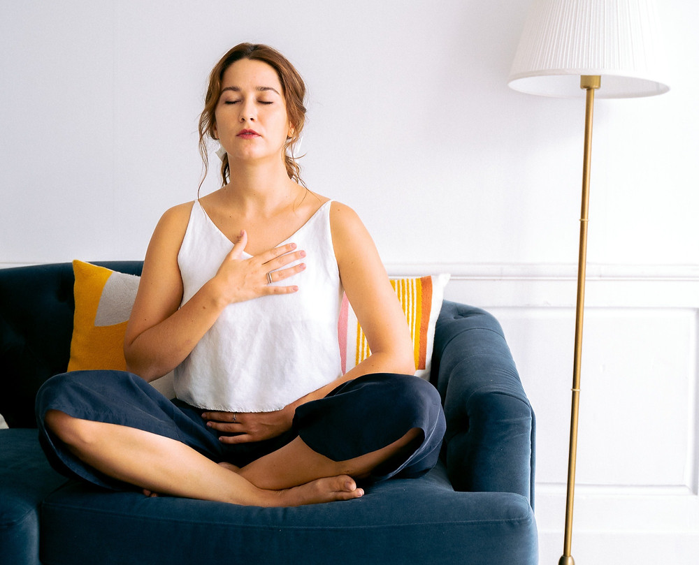 The act of breathing creates a bridge between the body and the psyche.