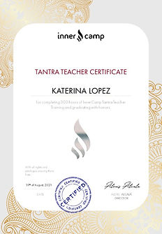 tantra teacher certification, study online from home