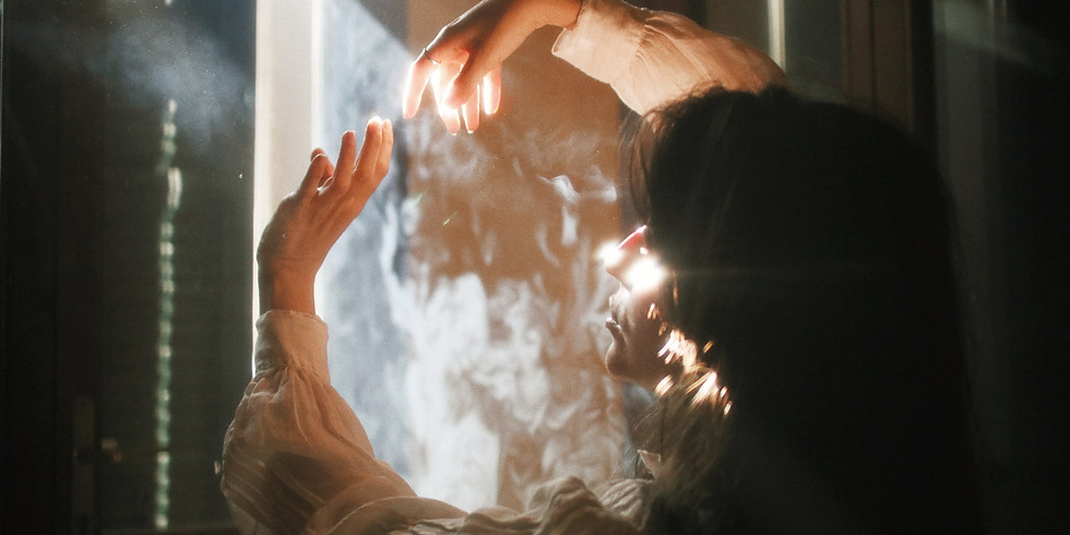 Student Breathwork session with Marten Thorand to connect with spirit