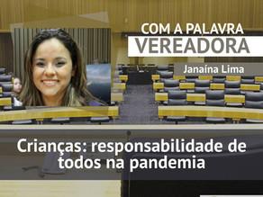 Crianças: responsabilidade de todos na pandemias