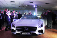 Mercedes AMG GT Launch 2015